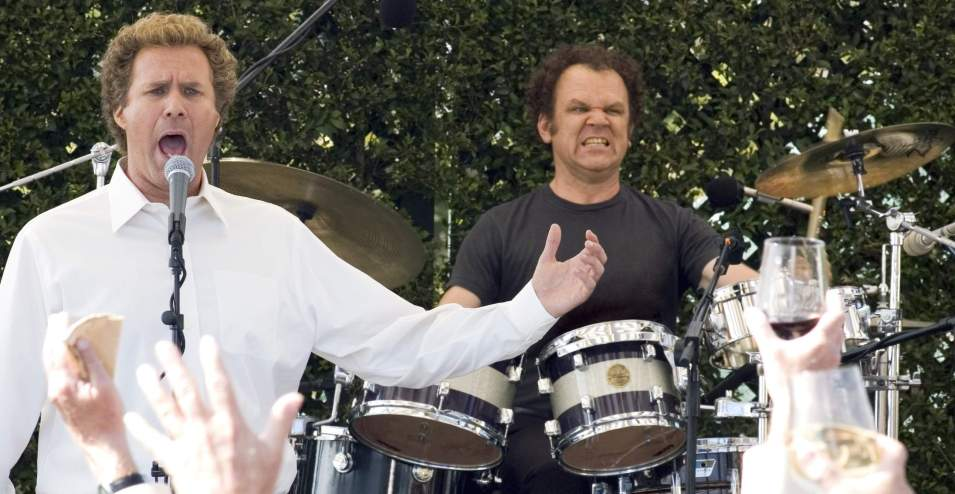 Will Ferrell and John C Reilly in Stepbrothers