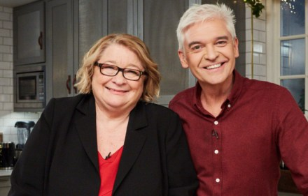 Rosemary Shrager and Phillip Schofield