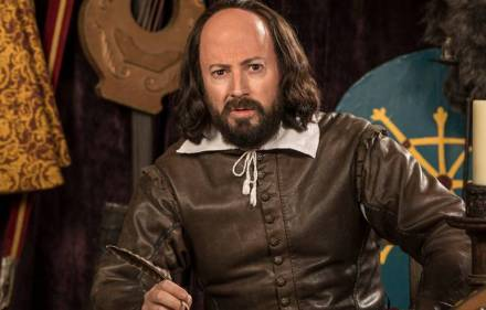 David Mitchell in Upstart Crow.