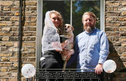 Preview – Hitched at Home: Our Lockdown Wedding
