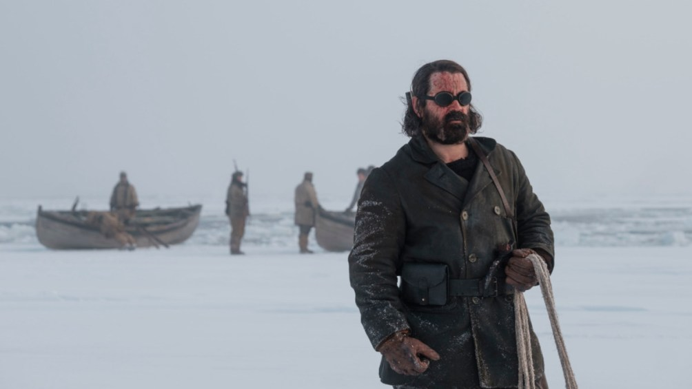 Colin Farrell as Henry Drax in The North Water.