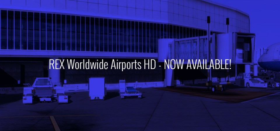 REX Worldwide Airports HD Is Now Available