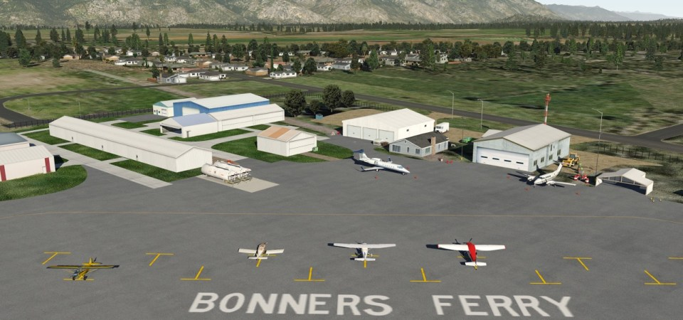 65S Boundary County  / Bonners Ferry (X-Plane)