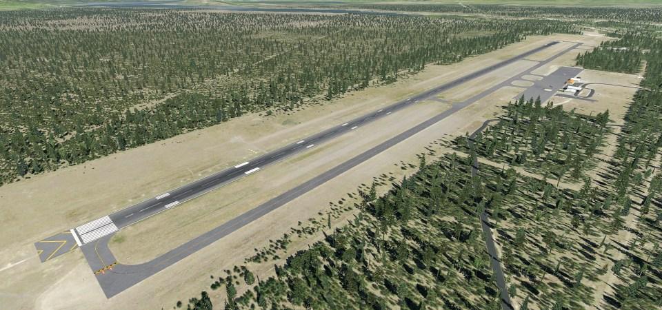 KWYS Yellowstone (X-Plane)
