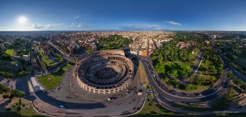 The Colosseum of Rome by AirPano