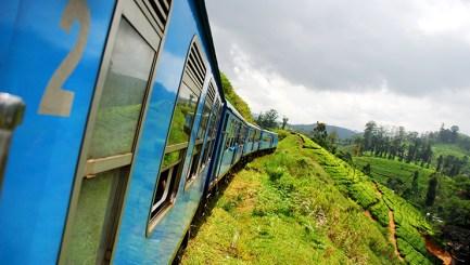 Train journey through tea plantations - Elephants, beaches and temples of Sri Lanka