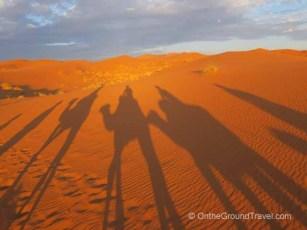 Our Shadows - Morocco Sahara Desert Tour