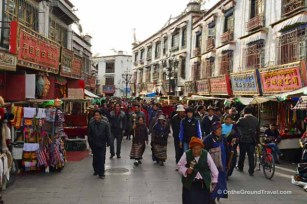 Tibet Travel - Barkhor Circuit