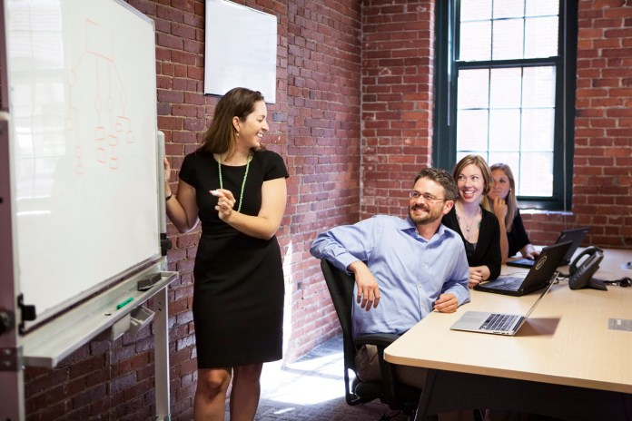Business brainstorming sessions email marketing