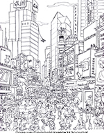 new york coloring pages # 4