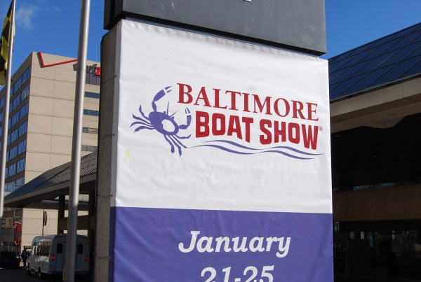 Baltimore Boat Show Banner