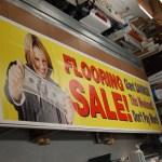 Flooring Sale Banner