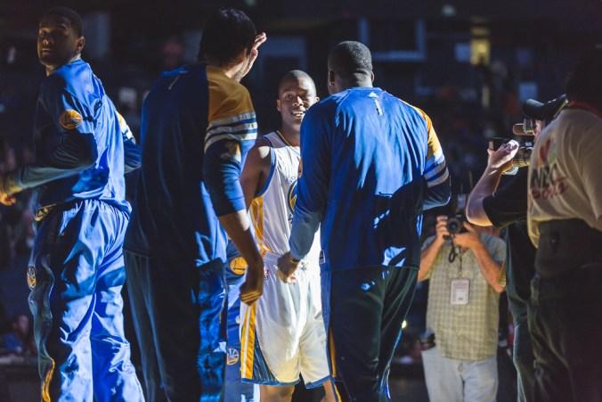 Harrison Barnes has been a huge part of the Warriors success this season. (nikk_la/Flickr)