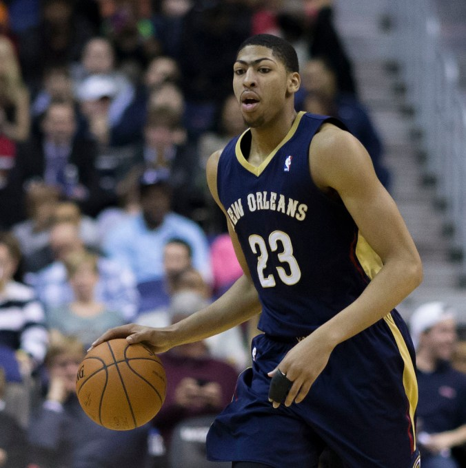 Anthony Davis is off to a great start this season, but can the Pelicans' supporting cast help him translate that into wins? (Keith Allison/Flickr)