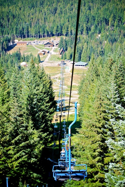 Mt. Hood Ski Bowl ski lift