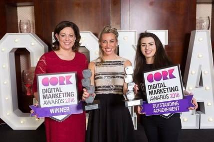 Cork Digital Marketing Awards Winner 2016 OnTheQT