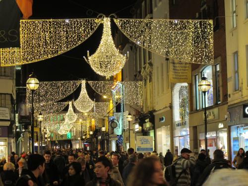 Dublin city Christmas