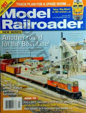 Model Railroader 2017 January