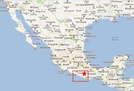 juquila map