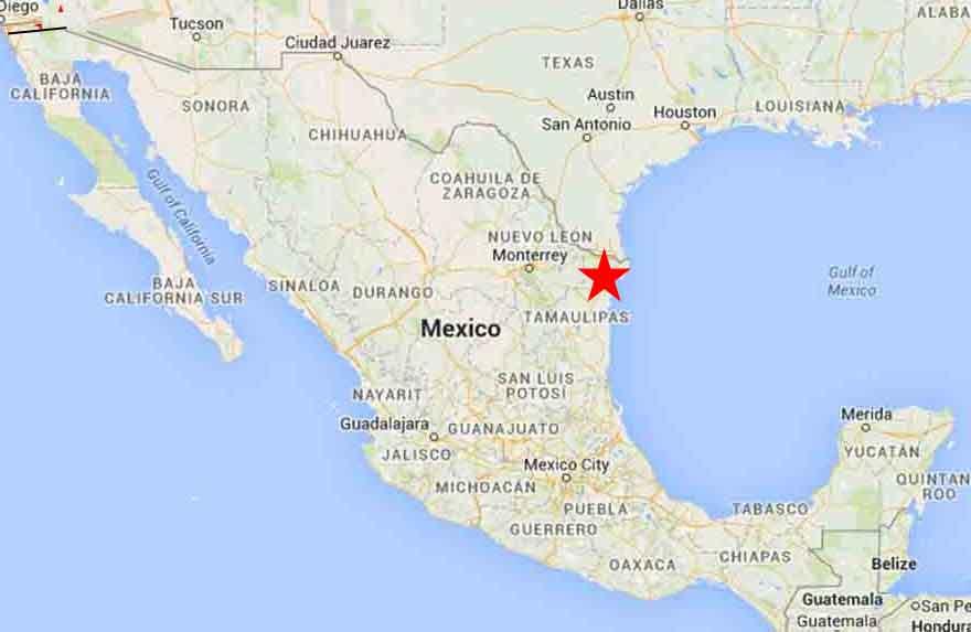 Matamoros, Tamaulipas – On The Road In Mexico