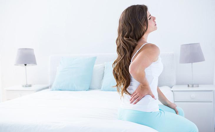 Woman Showing Symptoms Of Lateral Pelvic Tilt
