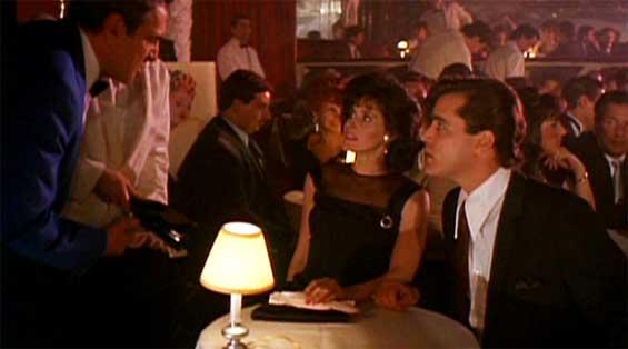 Image result for goodfellas restaurant scene