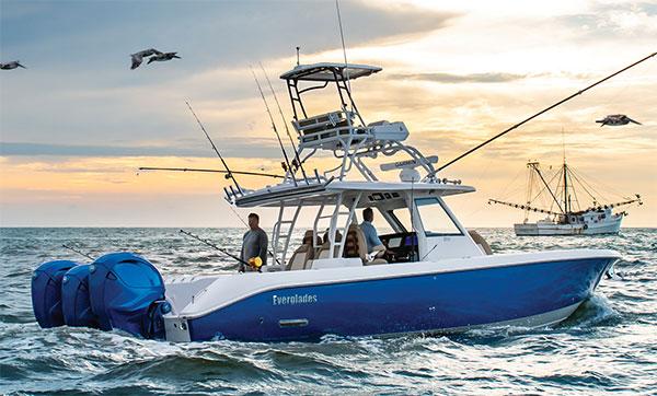 Everglades Boats 395CC