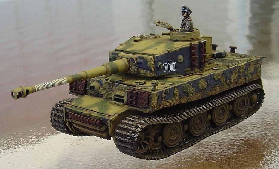 Yekta Destlund 1 72nd Scale Dragon Tiger I