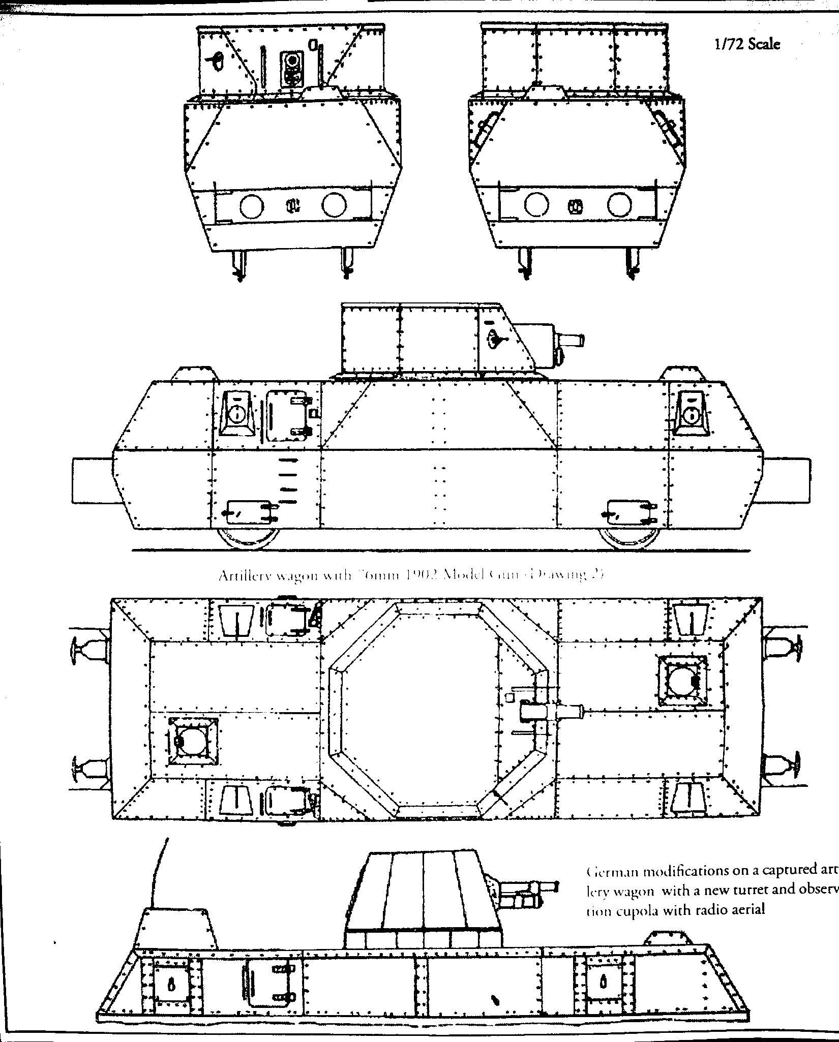 Platypus Productions German Modified Soviet Artillery