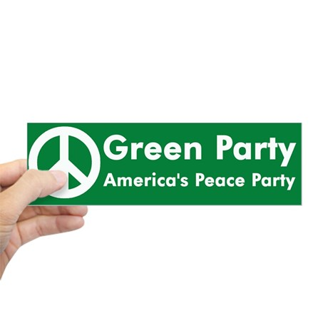 green_party_peace_sign_bumper_sticker