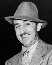 Animator Walt Disney