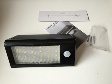 Amir 24 LED Solar Light Review