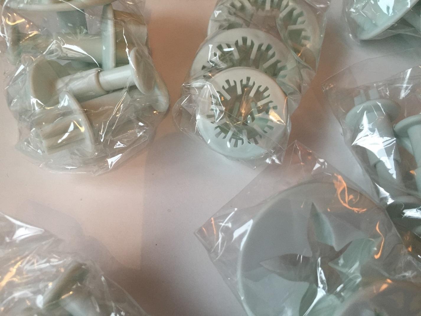 Fondant Cutters In Packaging