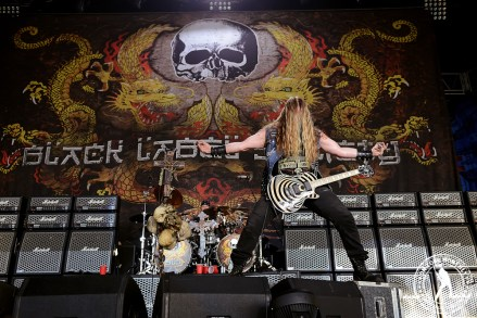 Zakk Wylde - BLACK LABEL SOCIETY - Gigantour BFD 2013 @ Gexa Energy Pavilion (7.12.13) | James Villa Photography © 2013