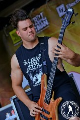 Black Dahlia Murders - Vans Warped Tour // Photo courtesy of James Villa Photography ©2013