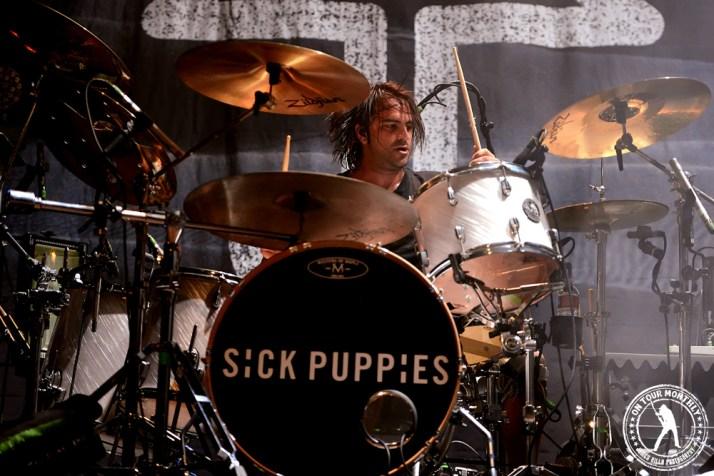Sick Puppies -House of Blues Dallas (9.17.13) // James Villa Photography 2013