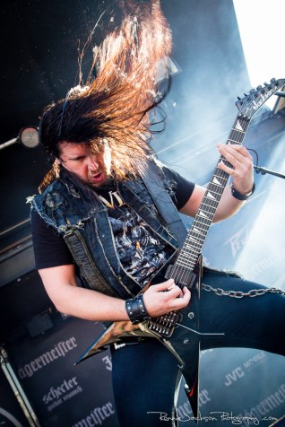 Corey Beaulieu - Trivium- Fort Rock 2014