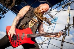Chris Kael - Five Finger Death Punch - Fort Rock 2014