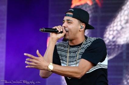 J. Cole - (Suburbia Music Festival - Plano TX 5-4-2014) © 201