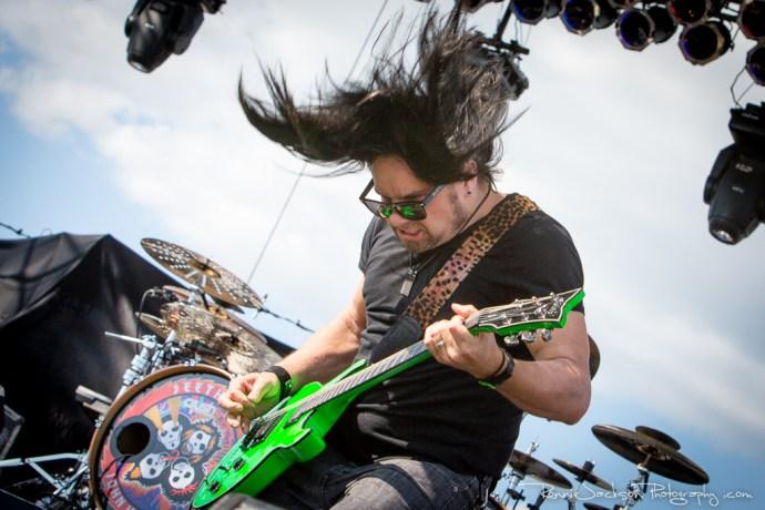 Bryan Wickmann - Seether - Fort Rock 2014