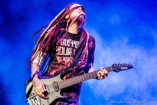 "Brian ""Head"" Welch - Korn - Fort Rock 2014"