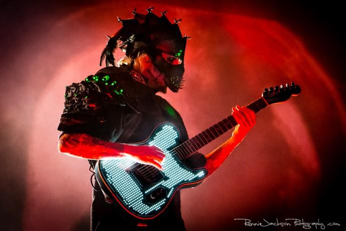 John 5 - Rob Zombie - Fort Rock 2014