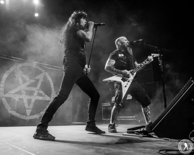 Anthrax (The Bomb Factory - Dallas, TX) 2/05/16 ©2016 James Villa Photography, All Rights Reserved