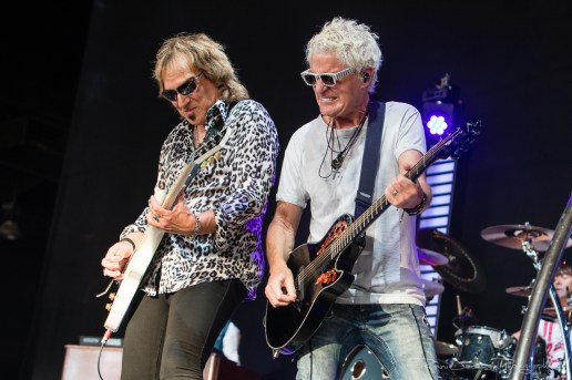 REO Speedwagon - Dave Amato and Kevin Cronin - Dos Equis Pavilion - Dallas Tx - 6-29-2018