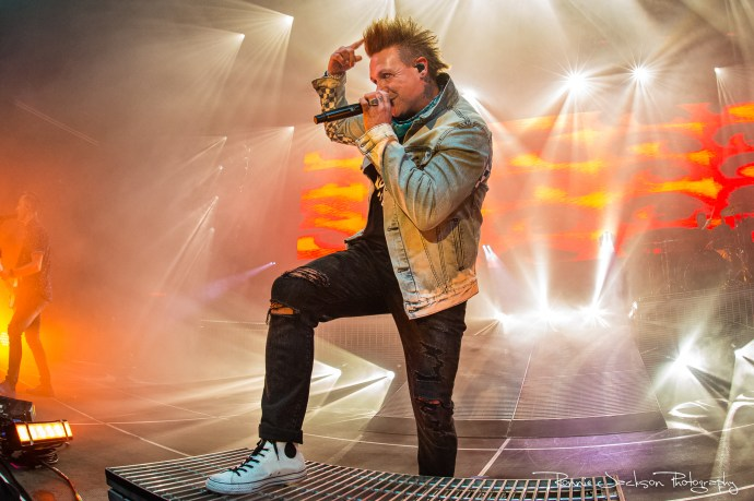 Jacoby Shaddix - Papa Roach - Southside Ballroom - Dallas Tx - 7-27-2019