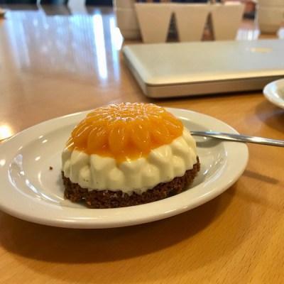 vanille panna cotta taartje met mango1