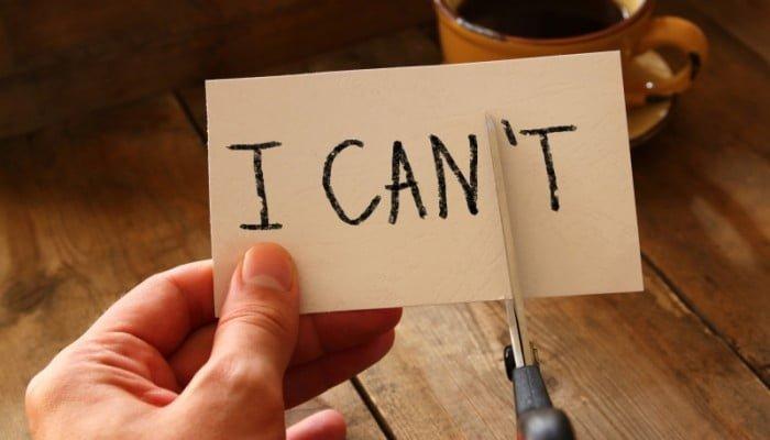 Stress door kritiek op onszelf