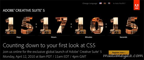 Adobe Creative Suite 5 Launch