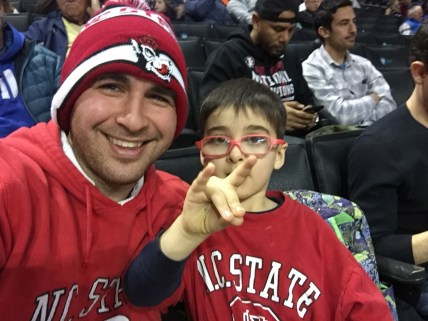 Luka and Melih at the 2018 ACC Tournament