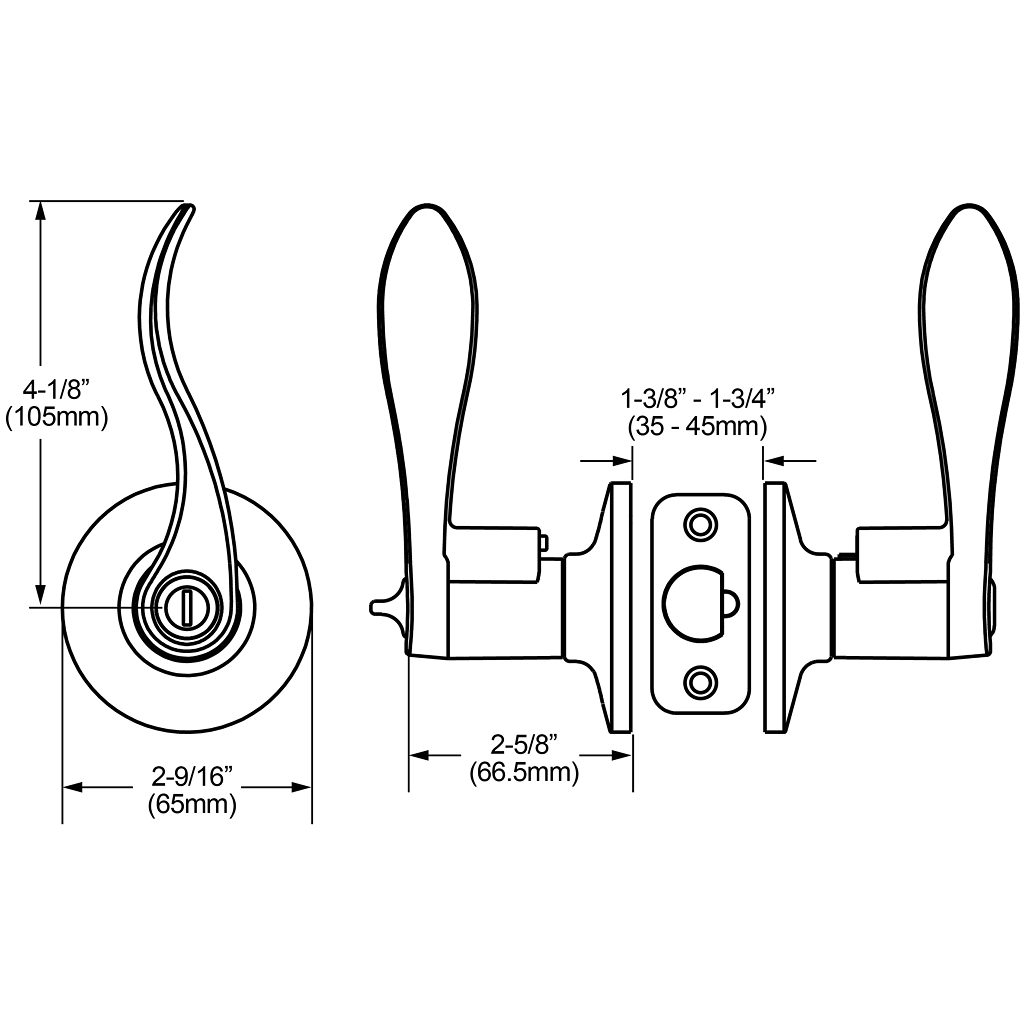 Curved Levers